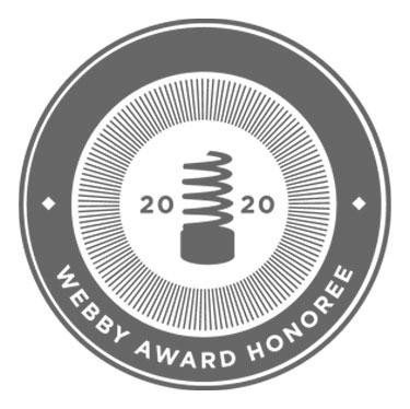 2020 Webby Award Honoree
